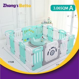 Eco-Friendly PE Cheap Safety Kids Furniture Plastic Baby Fence