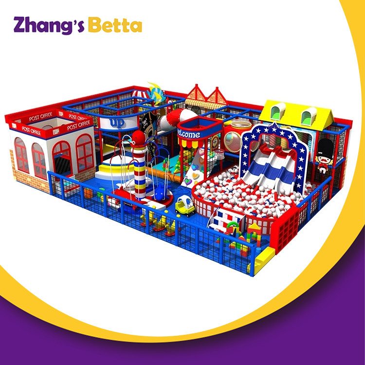 New Coming Indoor Play Zone Structure Playground