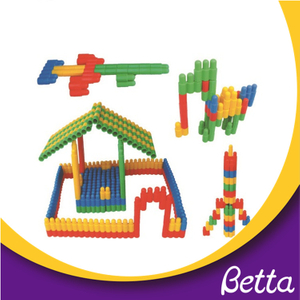 Hot sale interlock plastic magnetic plastic building blocks toys
