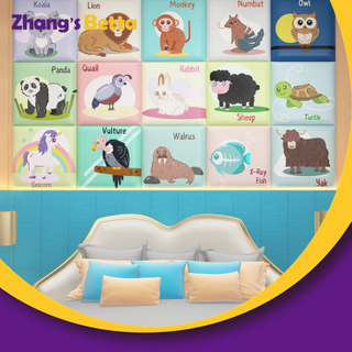 Most Popular Kindergarten Wall Soft Cushion for kids