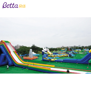 Bettaplay Outdoor inflatable water park giant inflatable water slid