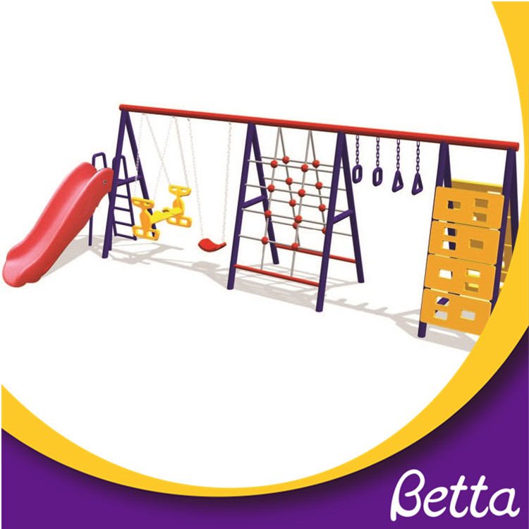 Outdoor fitness garden children swings equipment for sell