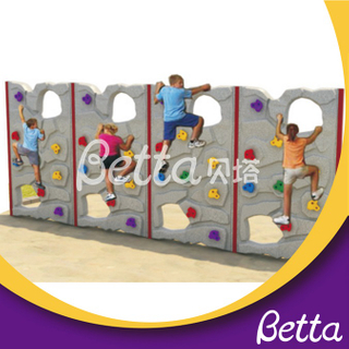 Bettaplay Plastic Rock Climbing toy Wall Kit