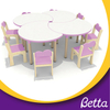 Kindergarten Furniture Kids Desk And Chair Set