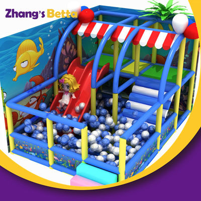 Hot Sell Children Preschool Soft Play Toys Playground Equipment Prices Kids Indoor with Sea Theme Design