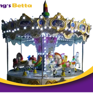Playground Merry Go Round Kids Playground Equipment For Amusement