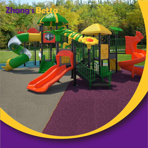 China Supplier School Kids Toy Outdoor Playground Plastic Combined Slide