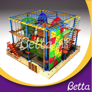 Bettaplay Professional made kindergarten use colorful rope course adventure