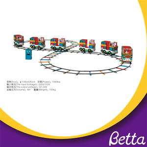 Outdoor Electric Train with Rail