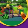 Hot Sell Large Outdoor Playground Slide Plastic Playground Material Backyard Play Equipment