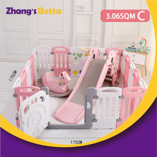 Cute And Attractive Indoor Baby Plastic Fences