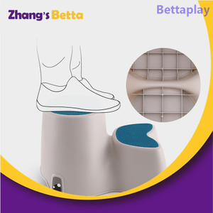 Anti-Slip Surface And Thick Rubber Two Step Stool for Kids