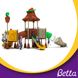 Bettaplay plastic playground outdoor kids slide playground