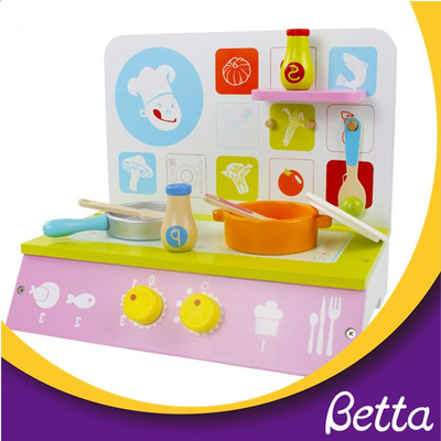 Toddler kids pretend kitchen role play set toy
