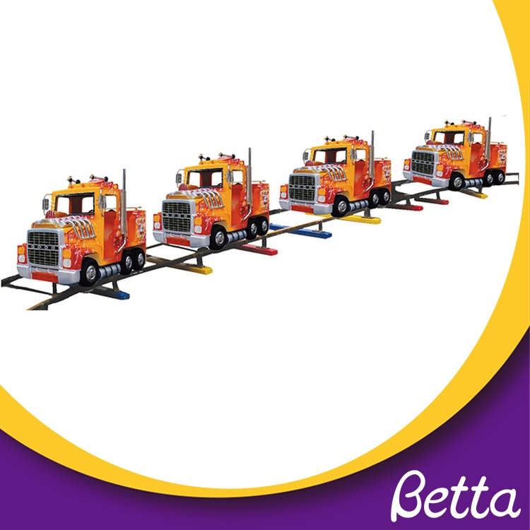Outdoor Playground Park Amusements Rides Electric Train Track For Sale