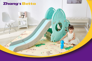 Modest Pastel Home Stay New Design Best Quality & Plastic Children Slide with Hoop Outdoor Playground Equipment Own Use