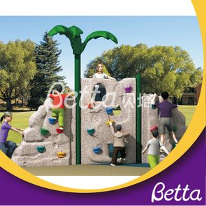 Bettaplay colorful plastic rock climbing wall