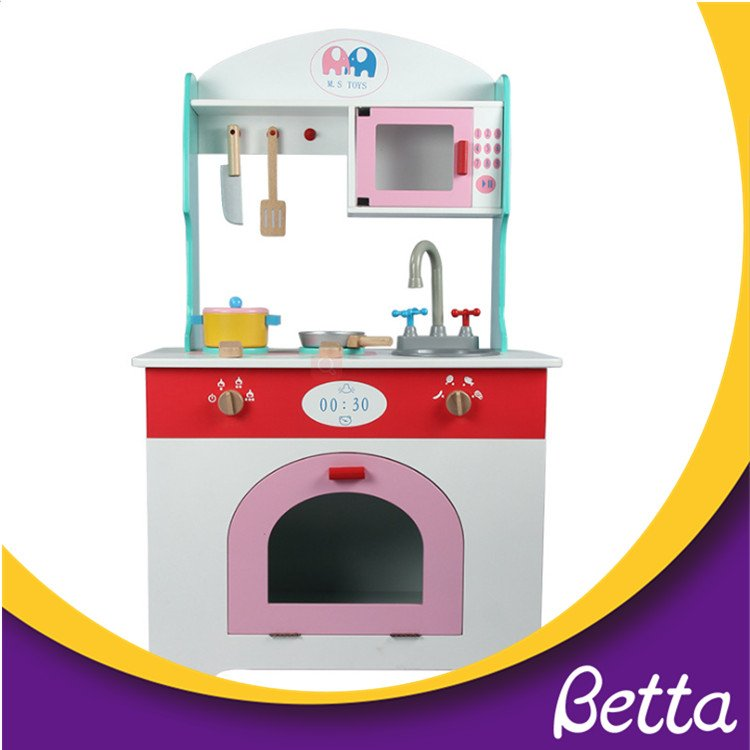 Educational toys play wooden set kitchen playset for kids ...