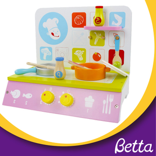 Bettaplay Wooden kids kitchen set toy, children pretend toy kitchen sets