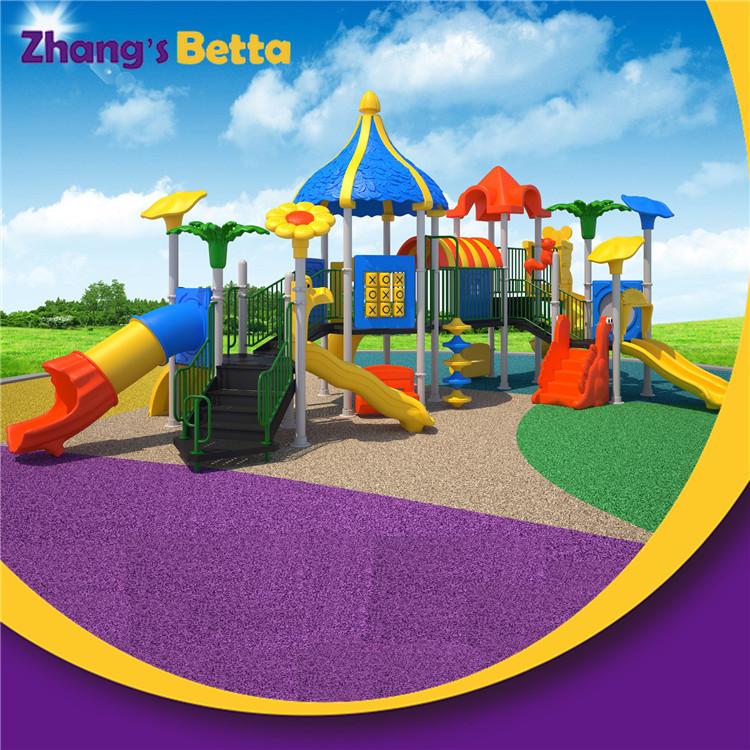 Plastic Playground Equipment Curved Slide for Kids ...