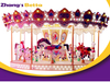 Merry Go Round Kids Playground Equipment For Amusement