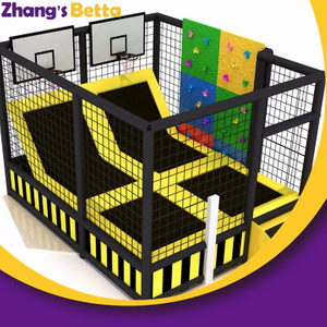 Wholesale Safety Kids Small Playground Equipment for Children Fitness Gymnastics Trampoline