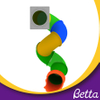 Bettaplay Colorful Plastic Spiral Tube Slide for Indoor Playground