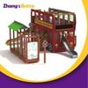 Easy Assembled Double Story Kids Outdoor Slide