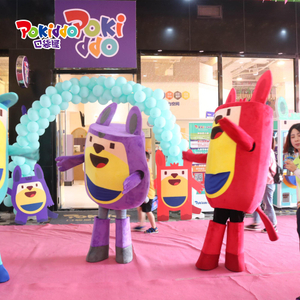 Pokiddo Franchise Products Indoor Playground Character Cartoon Mascot Costume