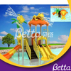 2019 Hot Sale Swimming Pool Water Slide Playground, Water Park Play Equipment Fiberglass Water Slides