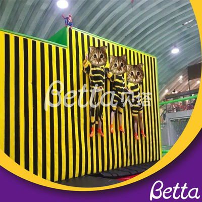 2019 Foam Pit Climbing Wall Customized Jumping Trampoline Park