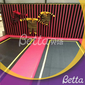 Bettaplay Spider Wall suit for kids trampoline park indoor playground