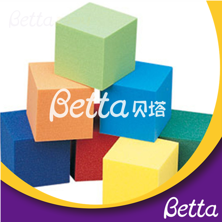 Bettaplay foams pit and foam cube For Build Indoor kids colorful large foam blocks cube