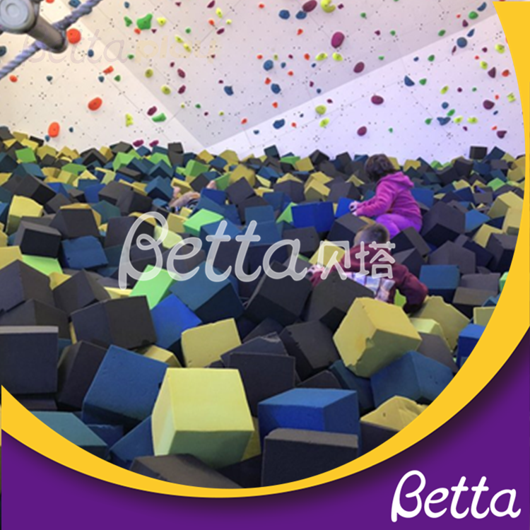Bettaplay foams pit and foam cube Trampolines With Foam Pit