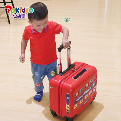 Pokiddo Franchise Products Indoor Playground Bus Ride Trolley Luggage For Kids
