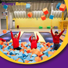 Customized High Density Foam Cubes Cover for Indoor Trampoline Park