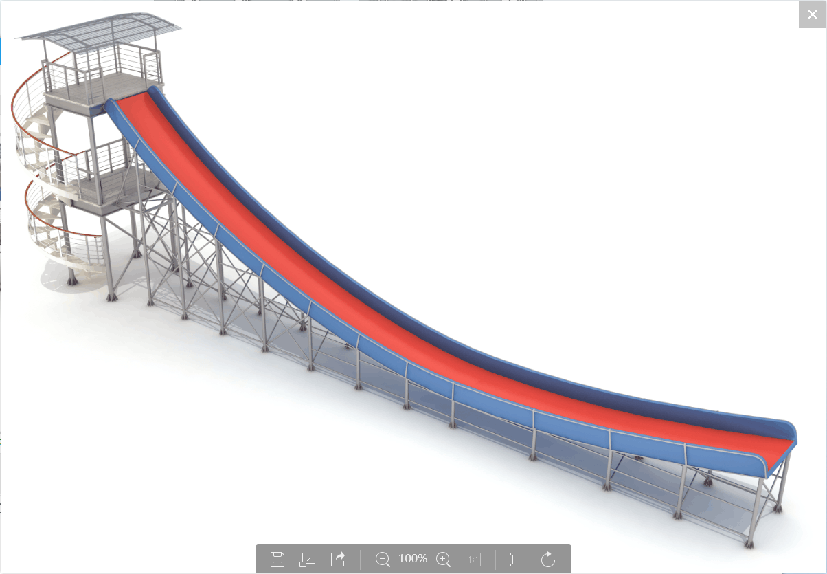first design of the tubby slide