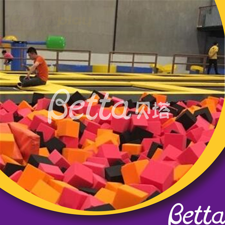 Eco-friendly Soft Kids Toy Colorful Sponge Cubes Foam Block Pit