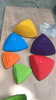 Children Balance Stepping Stones Plastic River Stone Toy Indoor Outdoor Training Sport