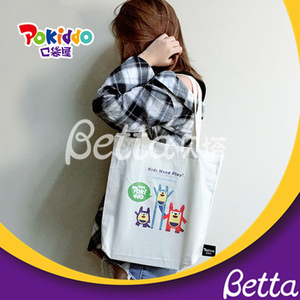 Pokiddo Wholesale Grocery Shopping Custom Cotton Canvas Tote Bag