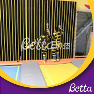 Bettaplay Spider Wall for trampoline park indoor playground