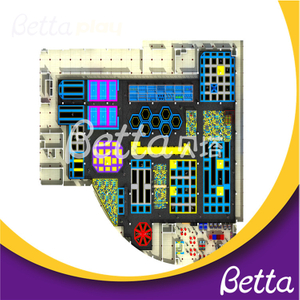 Bettaplay Customized Jumping Trampolines Park for Indoor Playground