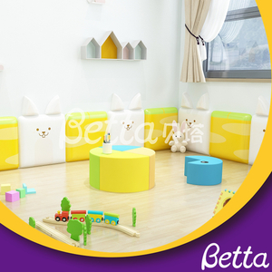 Colorful Soft Wall Customized Animal Wall for Kids Room Playground