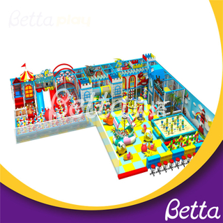 Bettaplay Customized Kids Indoor Playground Equipment