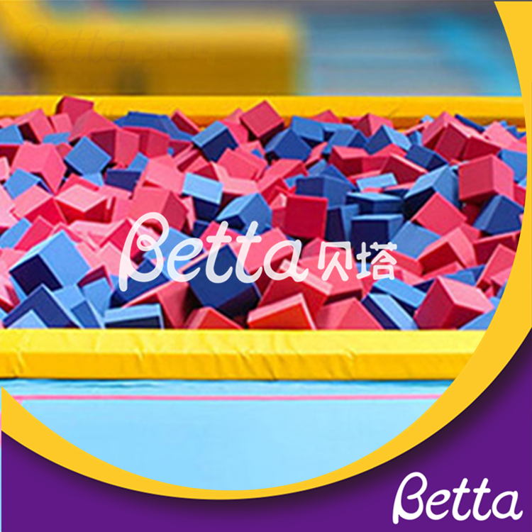 Bettaplay 2019 new foam cube cover for outdoor playground
