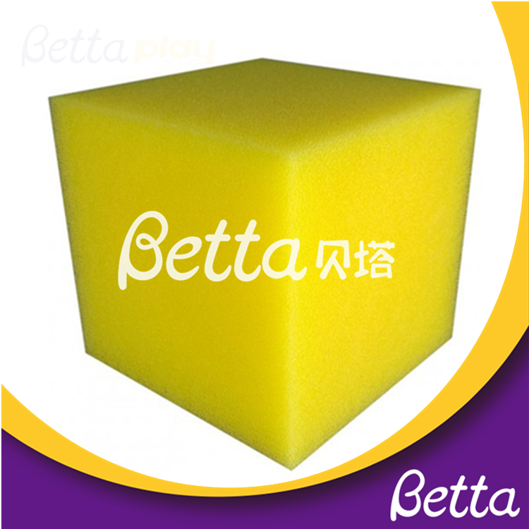 Bettaplay cube foams cover and foam cube for indoor playground outdoor playground
