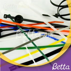 Bettaplay cable ties for kids indoor playground self-locking cable ties