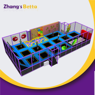 Commercial Gym Bungee Jumping Trampoline Indoor Park Equipment